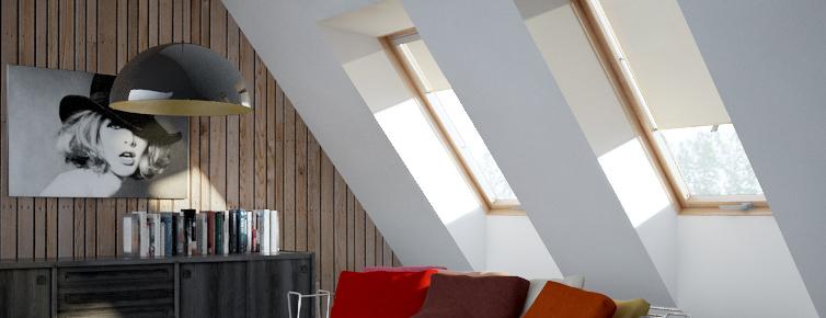 Stores rideaux à enrouleur Itzala pour fenêtre de toit - Prix ...