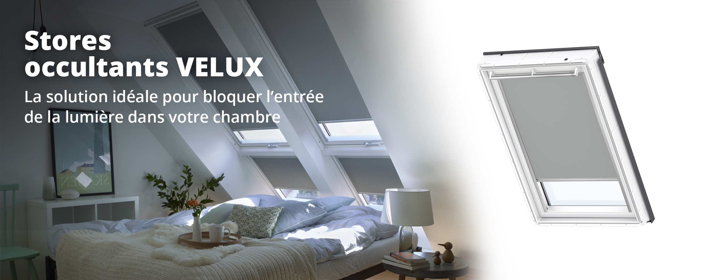 Stores d'occultation VELUX